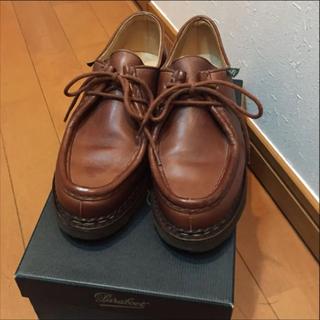 パラブーツ(Paraboot)のパラブーツ  ミカエル レディース 美品(ローファー/革靴)