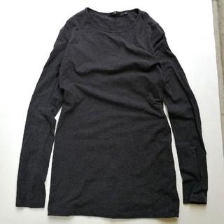 ジルサンダー(Jil Sander)の+J ユニクロ ジルサンダー ストレッチ ロンT ロングTシャツ L(Tシャツ(長袖/七分))