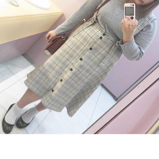 大きいサイズ サロペットスカート(その他)