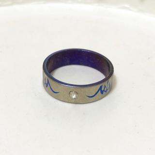 同時購入で300円 ステンレス指輪 バイカラー(リング(指輪))