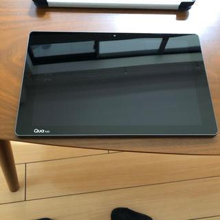 エルジーエレクトロニクス(LG Electronics)の au専用 Qua tab PZ(タブレット)