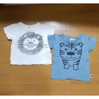 マーキーズ(MARKEY'S)のMARKEY'SとRUGGEDWORKSTシャツセット 80(Tシャツ)