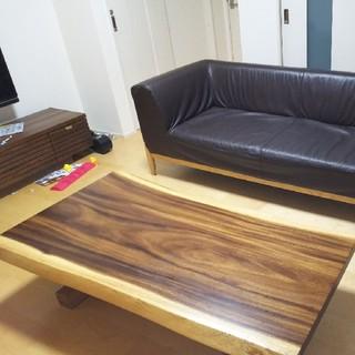 1枚板、脚とセット(ダイニングテーブル)