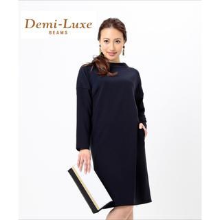 デミルクスビームス(Demi-Luxe BEAMS)のDemi-Luxe BEAMS ドルマンワンピース [H123](ひざ丈ワンピース)