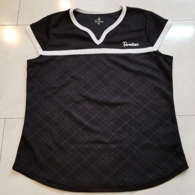 Paradiso(パラディーゾ)のParadiso パラディッソ テニス Tシャツ S スポーツ/アウトドアのテニス(ウェア)の商品写真