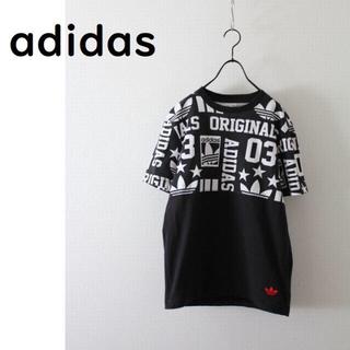 アディダス(adidas)のアディダスオリジナルス Tシャツ デカロゴ(Tシャツ/カットソー(半袖/袖なし))