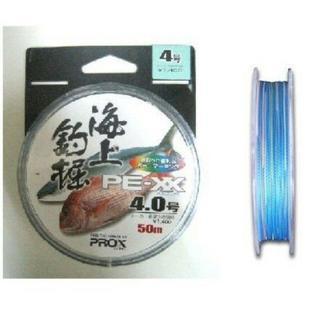 PROX 海上釣堀PEライン PE-XX 4号 ☆送料込み☆(釣り糸/ライン)