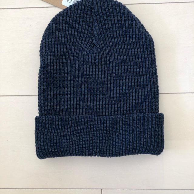 THE NORTH FACE(ザノースフェイス)のUS限定ノースフェイス ニット帽 Made in USA 新品未使用 レディースの帽子(ニット帽/ビーニー)の商品写真