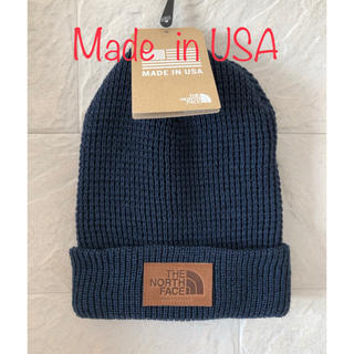 THE NORTH FACE - US限定ノースフェイス ニット帽 Made in USA 新品未使用