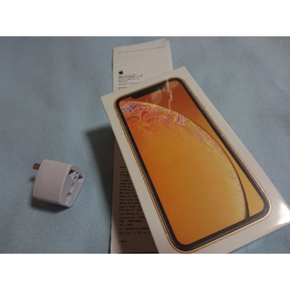 iPhoneXR 64GB 香港版 DSDS イエロー(スマートフォン本体)