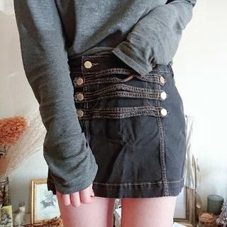 アッシュペーフランス(H.P.FRANCE)のHERCHCOVITCH;ALEXANDRE mini skirt(ミニスカート)