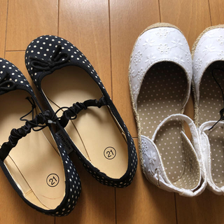 ジーユー(GU)のgirl 靴 set(サンダル)