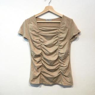 シマムラ(しまむら)のセオリア ラメ入り ストレッチ Tシャツ トップス(Tシャツ(半袖/袖なし))