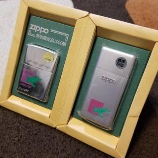 ジッポー(ZIPPO)の○Zippo(亀)携帯灰皿付(タバコグッズ)