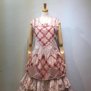 ピンクハウス(PINK HOUSE)のピンクハウス  タブリエドレス定価3万4560円(その他ドレス)