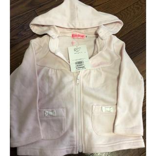 ベベ(BeBe)の新品未使用タグ付き♡キスドロップパーカー♡羽織り♡kissdrop(ジャケット/上着)