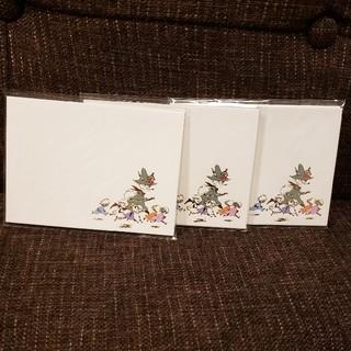 リトルミー(Little Me)のスナフキン 封筒 3個セット(カード/レター/ラッピング)