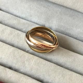 カルティエ(Cartier)のCartier カルティエ  トリニティリング SM 49(リング(指輪))
