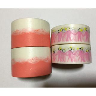 ミナペルホネン(mina perhonen)のミナベルホネン マスキングテープ 新品未使用(テープ/マスキングテープ)