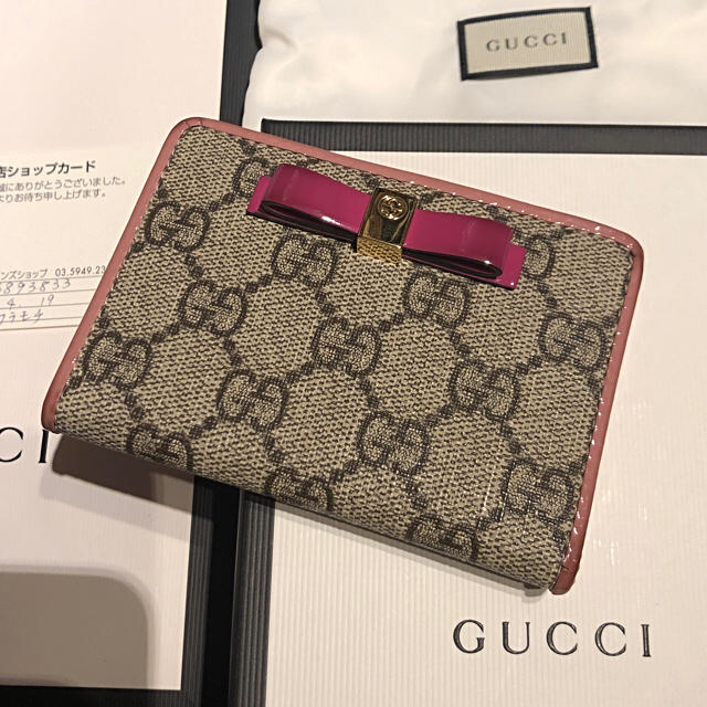 info for 6d053 6e4db GUCCI 美品 リボンパスケース | フリマアプリ ラクマ