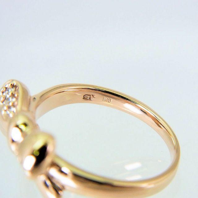 Samantha Tiara(サマンサティアラ)のサマンサティアラ K18PG ダイヤモンド リング 4.5号[f416-9] レディースのアクセサリー(リング(指輪))の商品写真