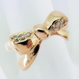 サマンサティアラ(Samantha Tiara)のサマンサティアラ K18PG ダイヤモンド リング 4.5号[f416-9](リング(指輪))