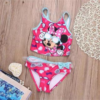 ディズニー(Disney)の新品❤︎ ミニー  セパレート水着 2T 80cm ディズニー(水着)