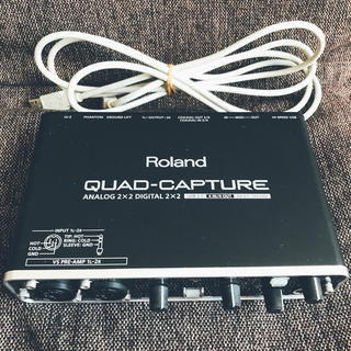 ローランド(Roland)のROLAND ( ローランド )  QUAD-CAPTURE UA-55(オーディオインターフェイス)