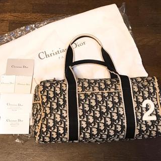 クリスチャンディオール(Christian Dior)のChristian Dior トロッター ミニボストンバッグ(トートバッグ)