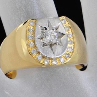 印台 ダイヤ 指輪(リング(指輪))