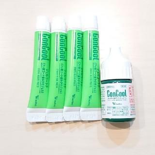 歯周病に効果的 ジェルコートF×4 コンクールF×1 お試し(歯磨き粉)