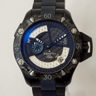 ゼニス(ZENITH)のゼニス デファイ エクストリーム 150本限定品 OHあがり ギャランティあり(腕時計(アナログ))