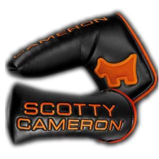 スコッティキャメロン(Scotty Cameron)のスコッティキャメロン バリスティックオレンジ スコッティドッグ ヘッドカバー(その他)