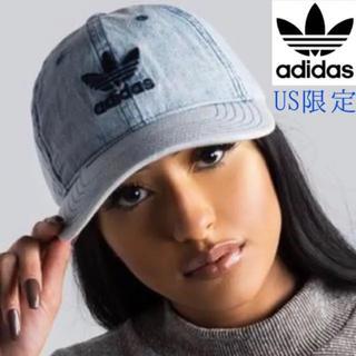 アディダス(adidas)のadidas アディダス デニムキャップ(キャップ)