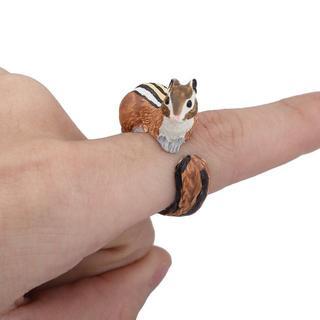 新品◆シマリスのリング(リング(指輪))