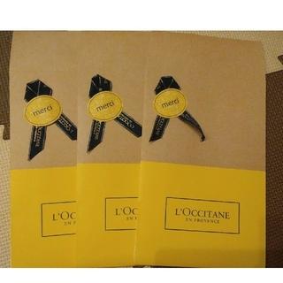 ロクシタン(L'OCCITANE)の☆ロクシタン☆ラッピング袋3枚セット🌠(ショップ袋)