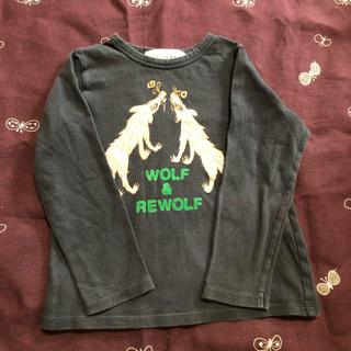 ミナペルホネン(mina perhonen)のミナペルホネン*wolf &flower*kids110 長袖カットソー(Tシャツ/カットソー)