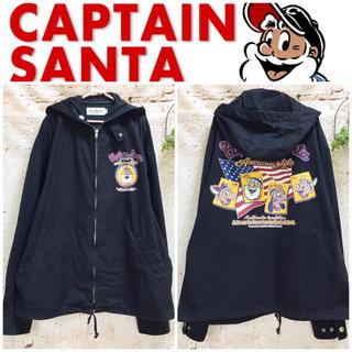 キャプテンサンタ(CAPTAIN SANTA)のキャプテンサンタ 胸&バックプリント ブルゾン ジャンパー 大きいサイズ感(ブルゾン)