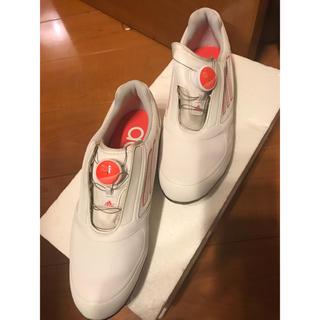 アディダス(adidas)のadidasゴルフシューズ23センチ(シューズ)