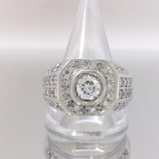 ダイヤ 印台(リング(指輪))