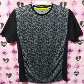 ジーユー(GU)の豹スポーツTシャツ(ウェア)
