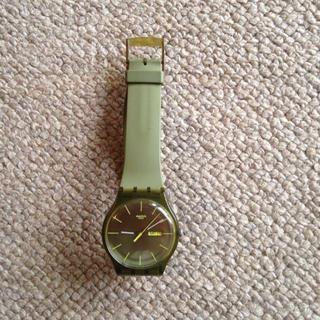 スウォッチ(swatch)のswatch カーキ(腕時計)