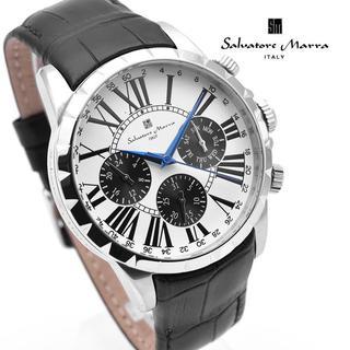 サルバトーレマーラ(Salvatore Marra)のサルバトーレマーラ 腕時計 メンズ 人気 モデル ホワイト ブランド(腕時計(アナログ))