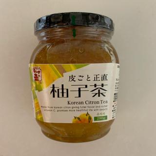 柚子茶(缶詰/瓶詰)