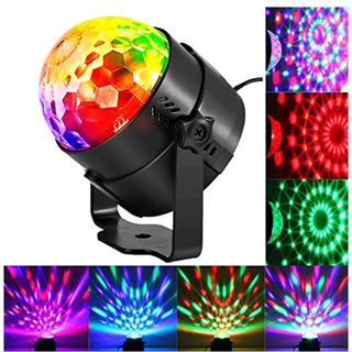 ステージライト ミラーボール 舞台照明 レーザー 照明 LED クラブ ライト(天井照明)