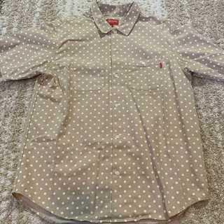 7002e20926 シュプリーム(Supreme)のSupreme JPolka Dot Denim Shirt ベージュXL(シャツ)