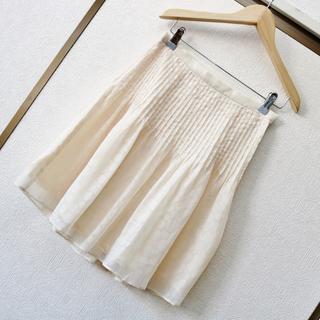 タスタス(tasse tasse)のtassetasse 水玉シフォンスカート(ひざ丈スカート)