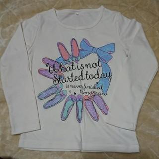 シマムラ(しまむら)のお値下げしました♪新品タグなし Tシャツ(長袖)120(Tシャツ/カットソー)