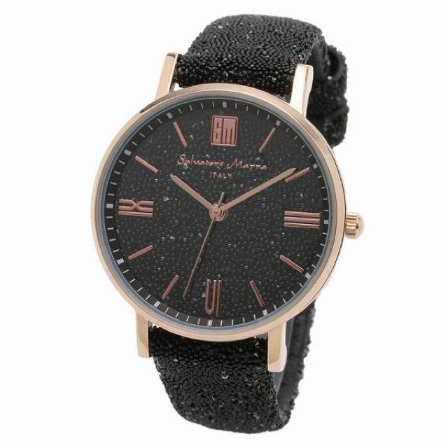 Salvatore Marra(サルバトーレマーラ)の正規品SalvatoreMarra腕時計 スワロフスキー 時計 メンズ腕時計 メンズの時計(腕時計(アナログ))の商品写真