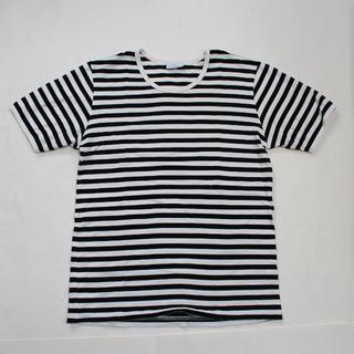マリメッコ(marimekko)のマリメッコ marimekko メンズボーダーTシャツ カットソー(Tシャツ/カットソー(半袖/袖なし))